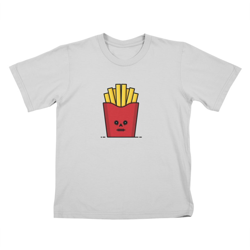 Fries Kids T-Shirt by Tony Bamber's Shop