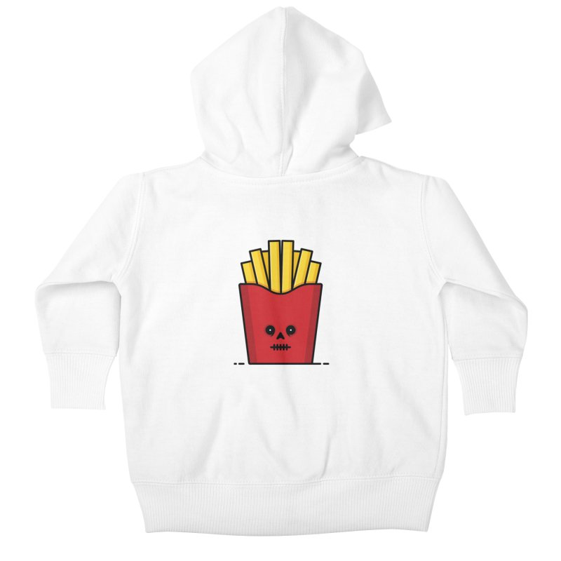 Fries Kids Baby Zip-Up Hoody by Tony Bamber's Shop
