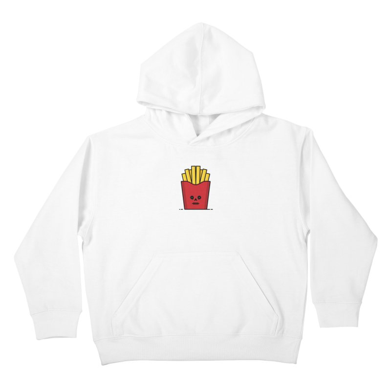 Fries Kids Pullover Hoody by Tony Bamber's Shop