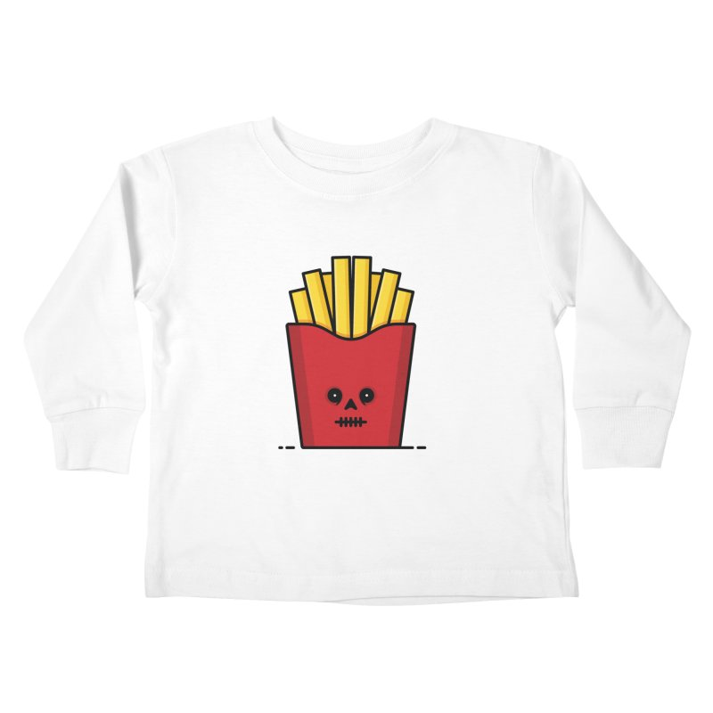 Fries Kids Toddler Longsleeve T-Shirt by Tony Bamber's Shop