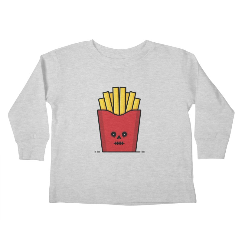 Fries Kids Toddler Longsleeve T-Shirt by Tony Bamber's Shop
