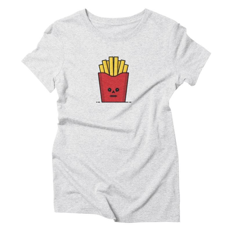 Fries Women's Triblend T-Shirt by Tony Bamber's Shop