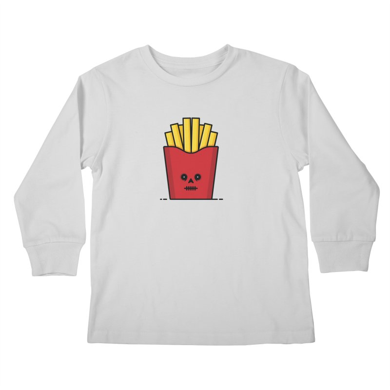 Fries Kids Longsleeve T-Shirt by Tony Bamber's Shop