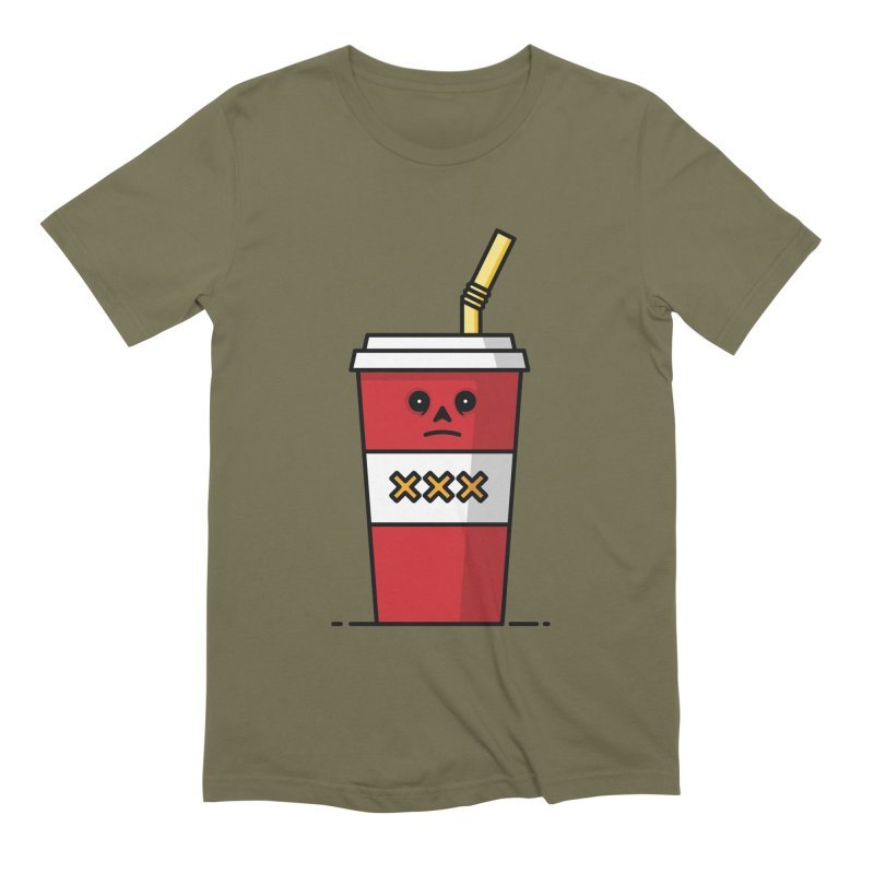 Shake Men's Extra Soft T-Shirt by Tony Bamber's Shop