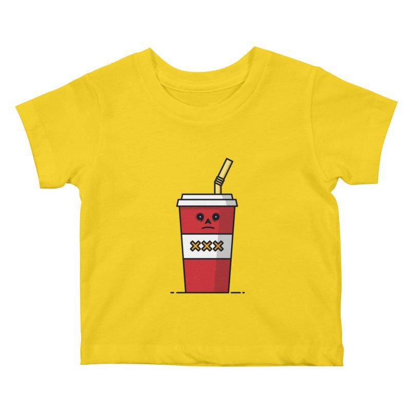 Shake Kids Baby T-Shirt by Tony Bamber's Shop