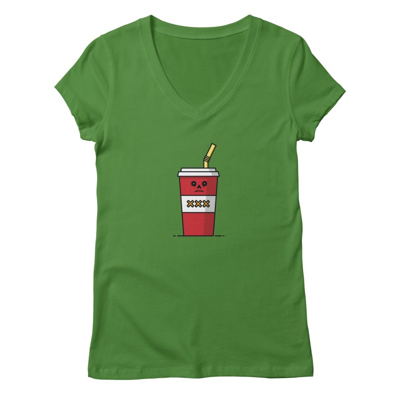 Shake Women's Regular V-Neck by Tony Bamber's Shop