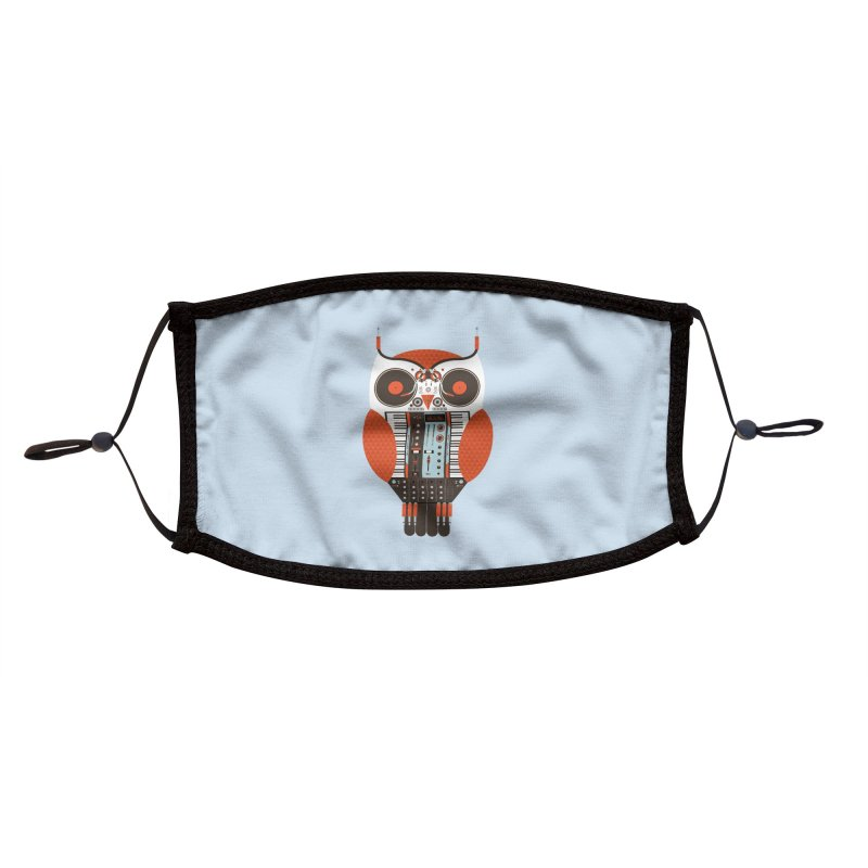 DJ Owl Accessories Face Mask by Tony Bamber's Shop
