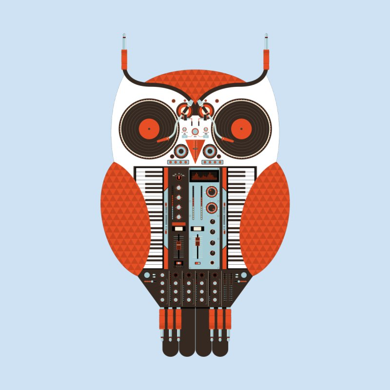 DJ Owl by Tony Bamber's Shop