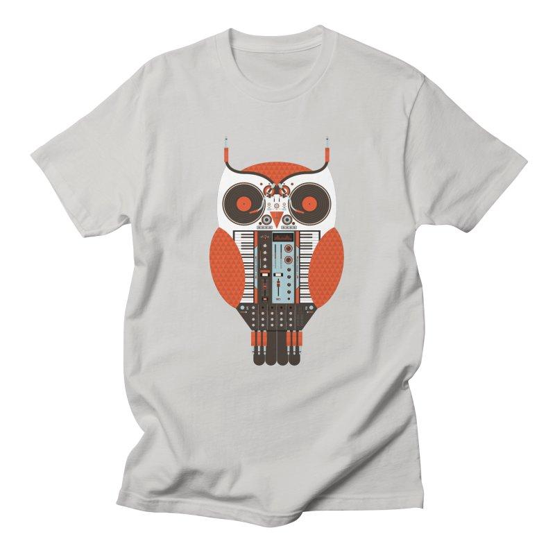 DJ Owl Men's T-Shirt by Tony Bamber's Shop