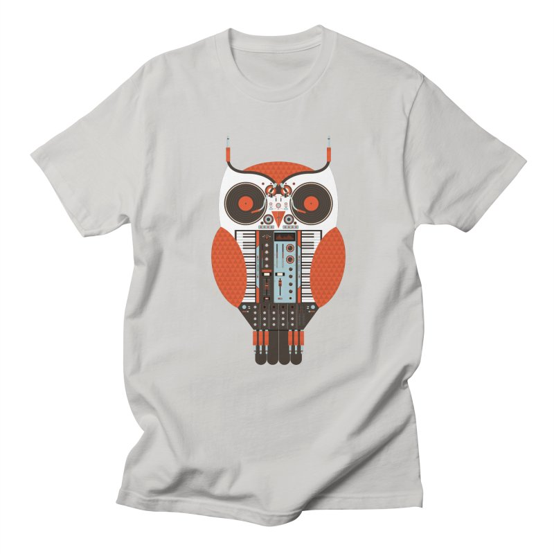 DJ Owl Men's T-Shirt by Tony Bamber's Shop