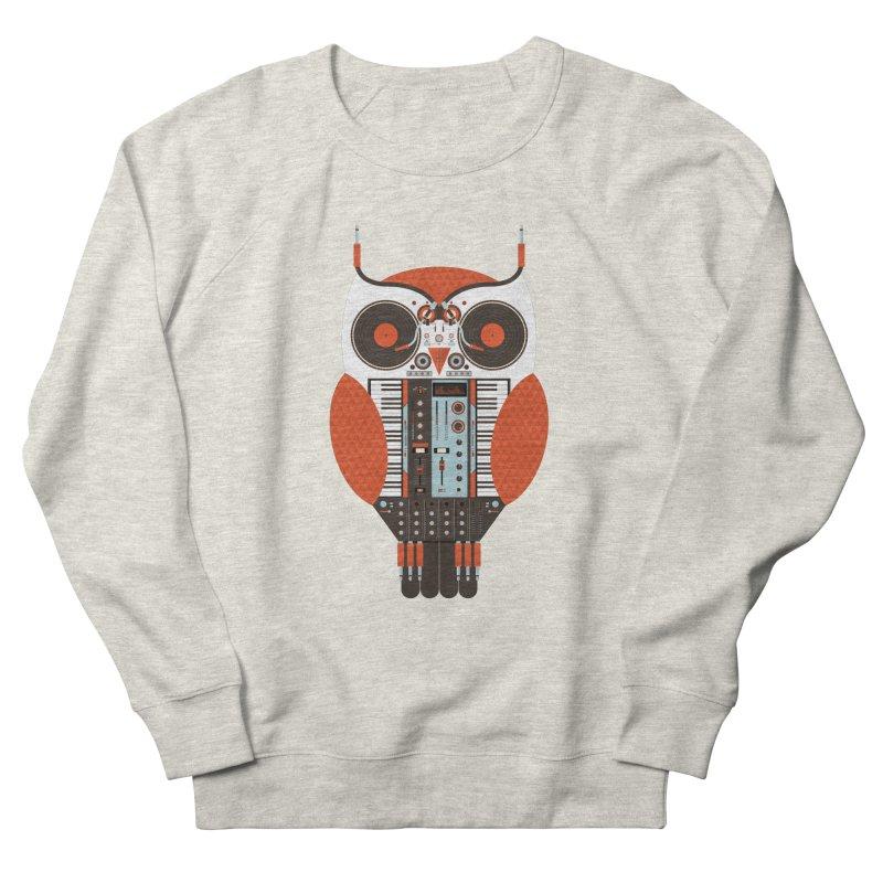 DJ Owl Women's French Terry Sweatshirt by Tony Bamber's Shop