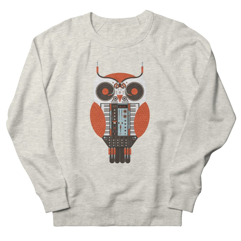 DJ Owl Men's Sweatshirt by Tony Bamber's Shop