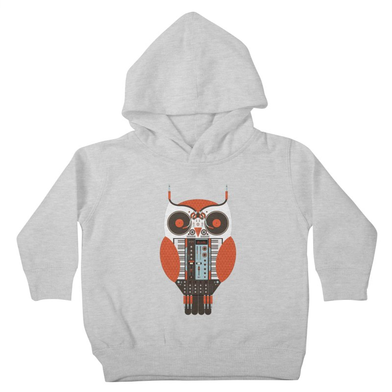 DJ Owl Kids Toddler Pullover Hoody by Tony Bamber's Shop