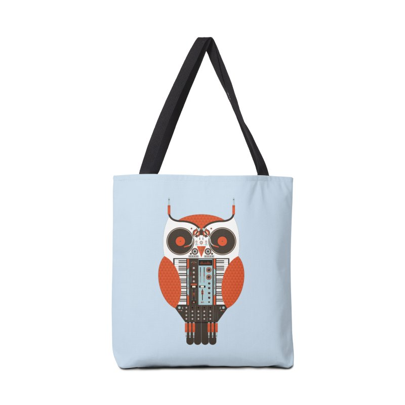 DJ Owl Accessories Tote Bag Bag by Tony Bamber's Shop