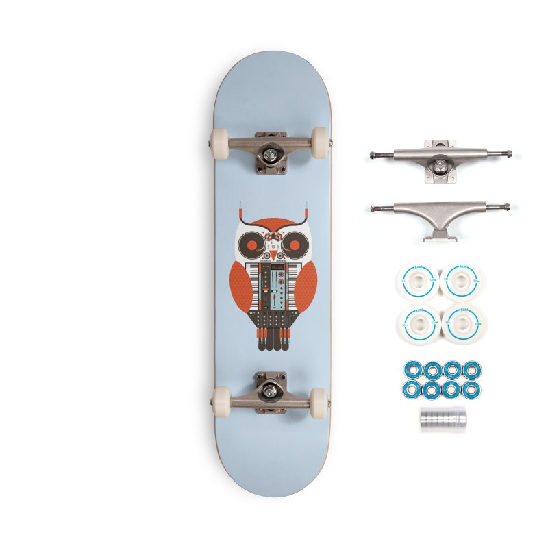 DJ Owl Accessories Complete - Basic Skateboard by Tony Bamber's Shop