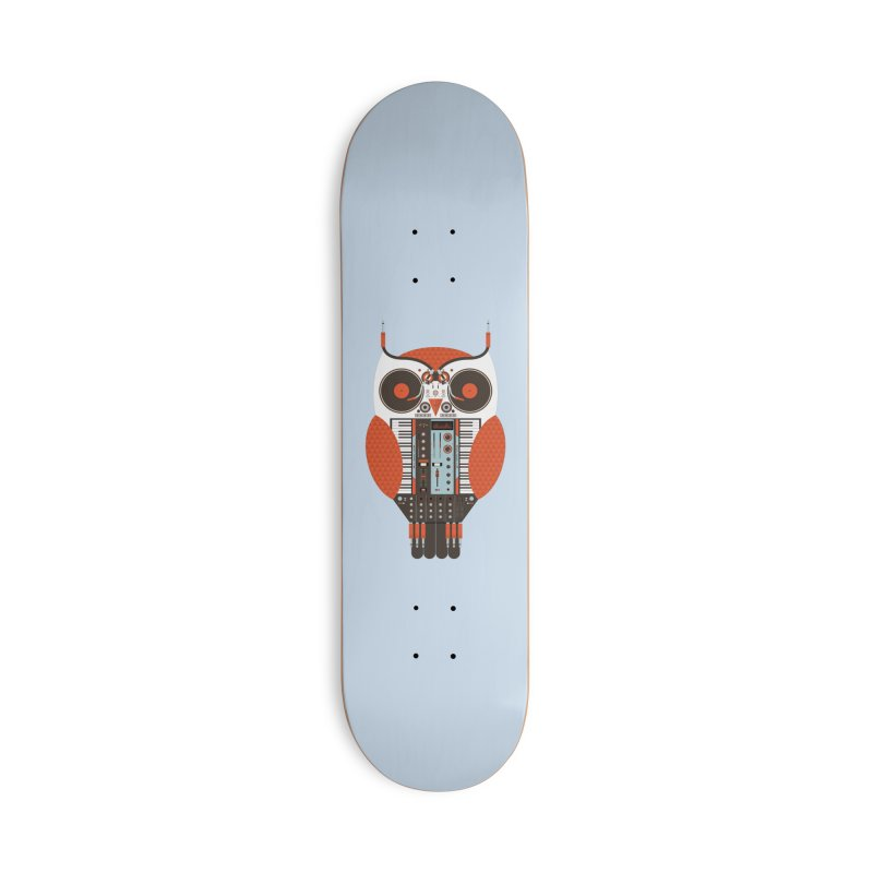 DJ Owl Accessories Deck Only Skateboard by Tony Bamber's Shop
