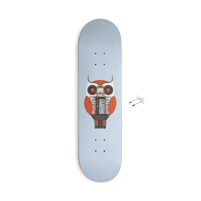 DJ Owl Accessories Skateboard by Tony Bamber's Shop