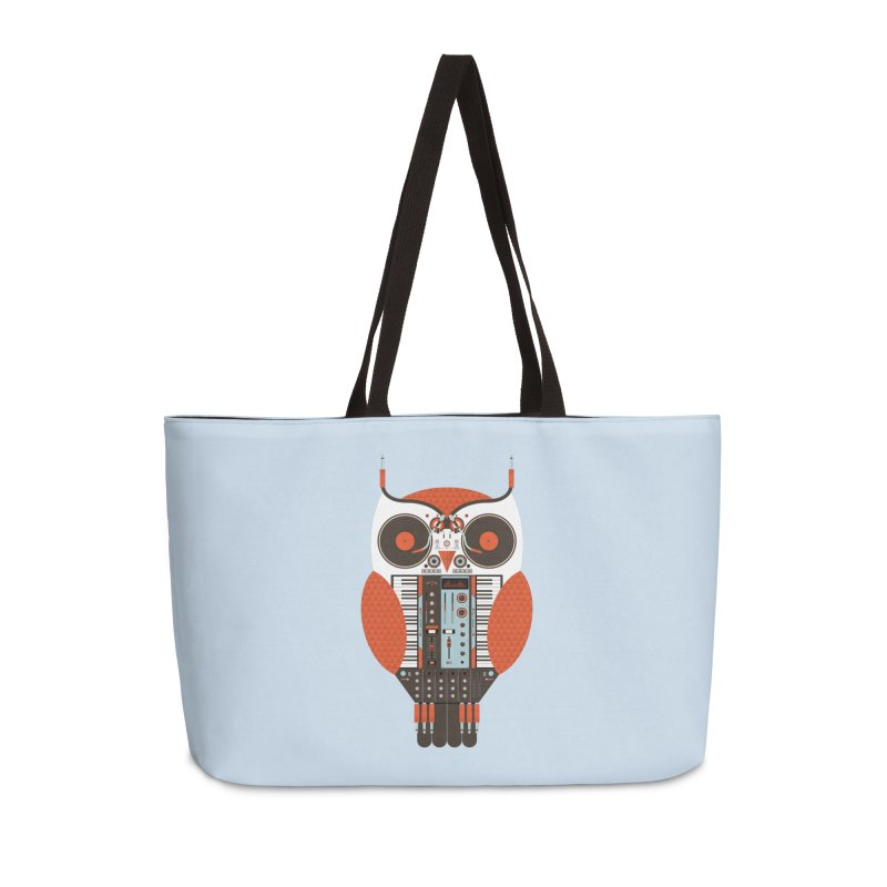 DJ Owl Accessories Weekender Bag Bag by Tony Bamber's Shop