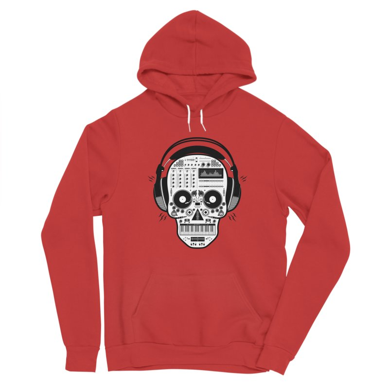 DJ Skull Women's Pullover Hoody by Tony Bamber's Shop