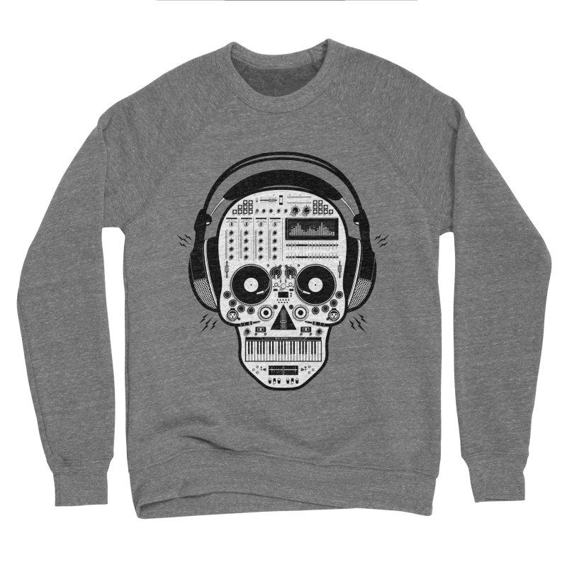 DJ Skull Women's Sponge Fleece Sweatshirt by Tony Bamber's Shop