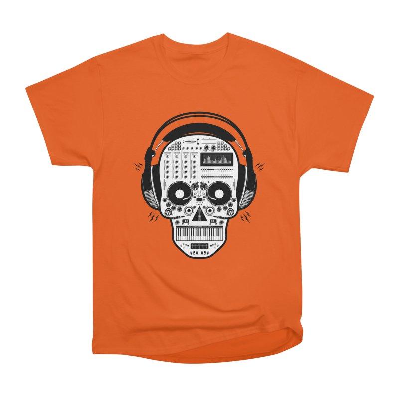 DJ Skull Women's T-Shirt by Tony Bamber's Shop