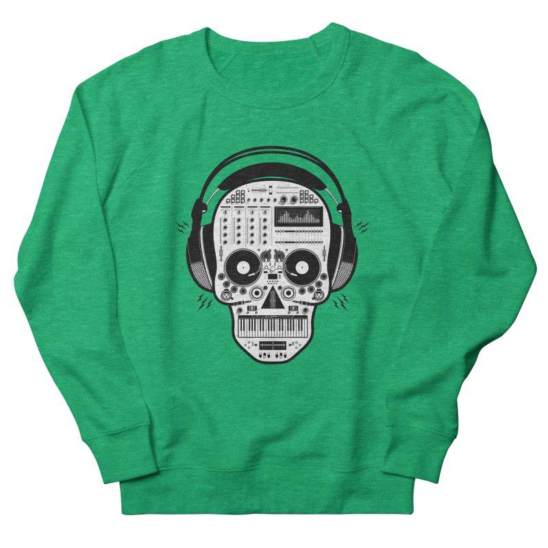 DJ Skull Women's Sweatshirt by Tony Bamber's Shop