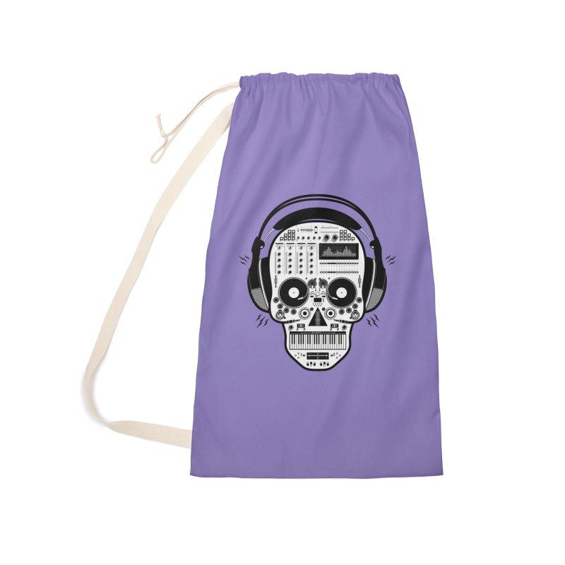 DJ Skull Accessories Bag by Tony Bamber's Shop