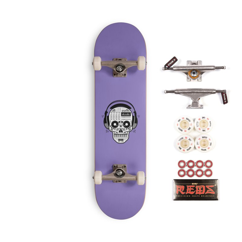 DJ Skull Accessories Complete - Pro Skateboard by Tony Bamber's Shop