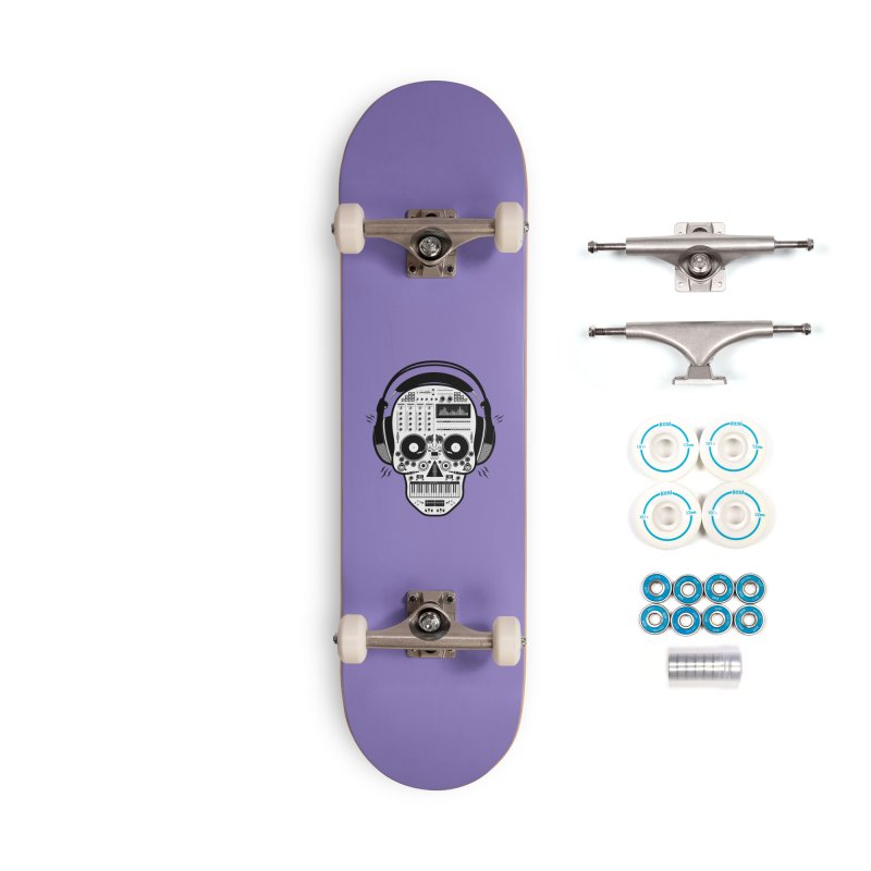 DJ Skull Accessories Complete - Basic Skateboard by Tony Bamber's Shop