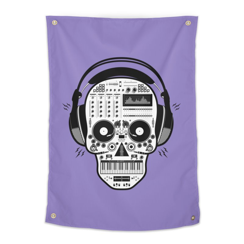 DJ Skull Home Tapestry by Tony Bamber's Shop
