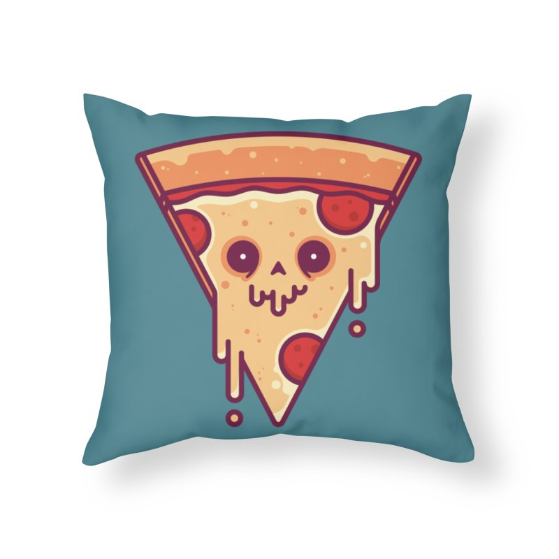 Slice Home Throw Pillow by Tony Bamber's Shop