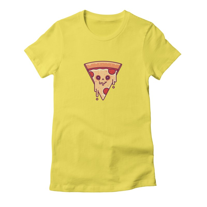 Slice Women's Fitted T-Shirt by Tony Bamber's Shop