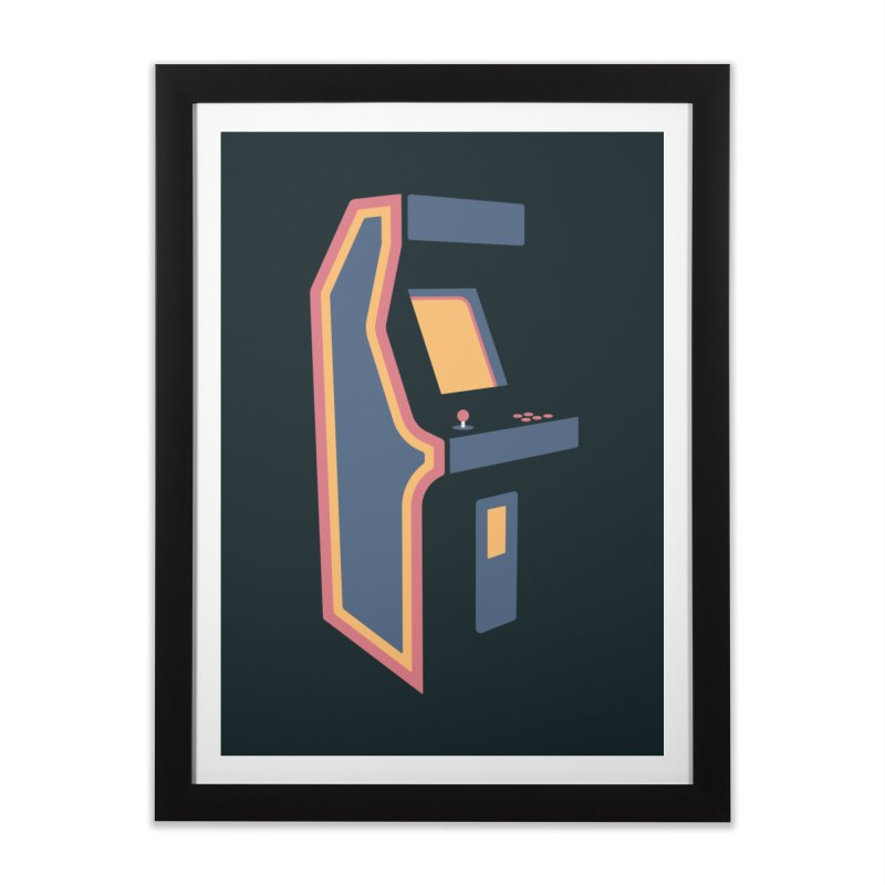 Classic Arcade Home Framed Fine Art Print by Tony Bamber's Shop