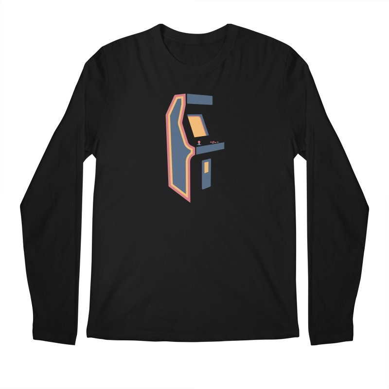 Classic Arcade Men's Regular Longsleeve T-Shirt by Tony Bamber's Shop