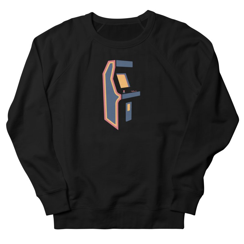 Classic Arcade Men's French Terry Sweatshirt by Tony Bamber's Shop