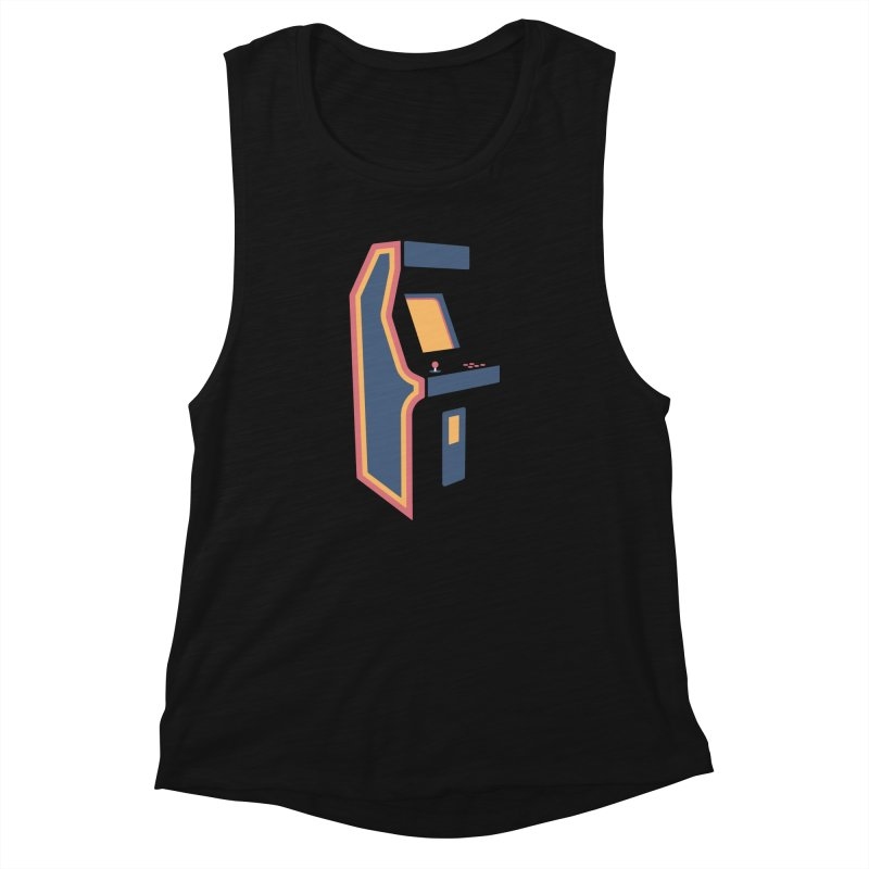 Classic Arcade Women's Muscle Tank by Tony Bamber's Shop