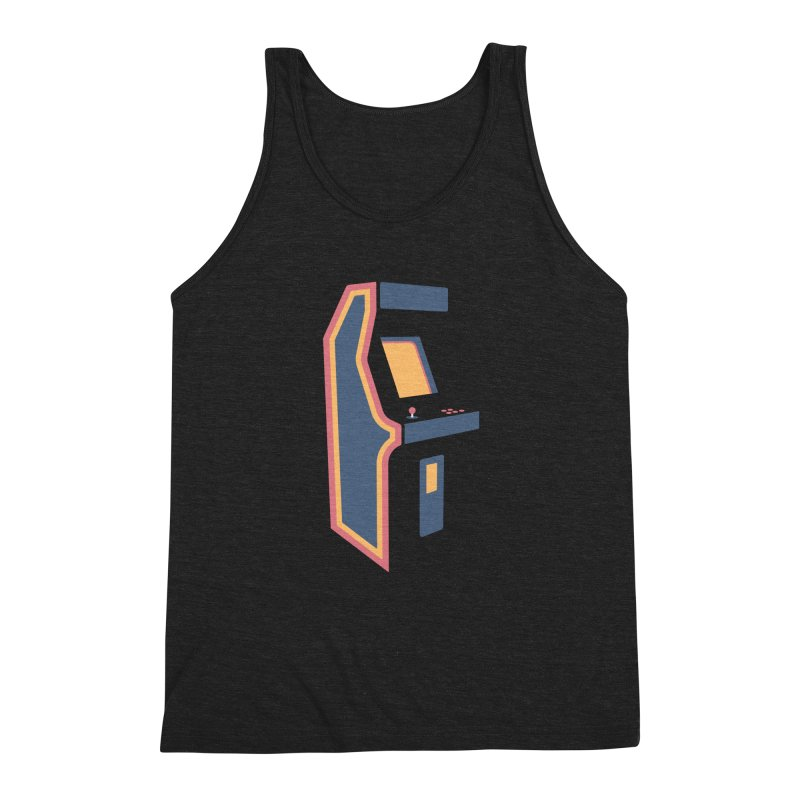 Classic Arcade Men's Triblend Tank by Tony Bamber's Shop