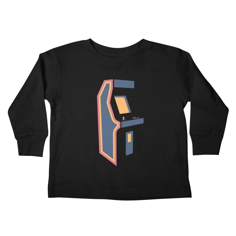 Classic Arcade Kids Toddler Longsleeve T-Shirt by Tony Bamber's Shop