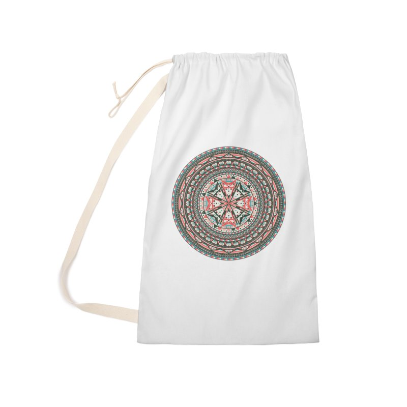 Mandala Accessories Laundry Bag Bag by Tony Bamber's Shop