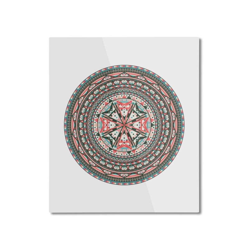 Mandala Home Mounted Aluminum Print by Tony Bamber's Shop