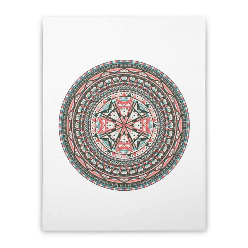 Mandala Home Stretched Canvas by Tony Bamber's Shop