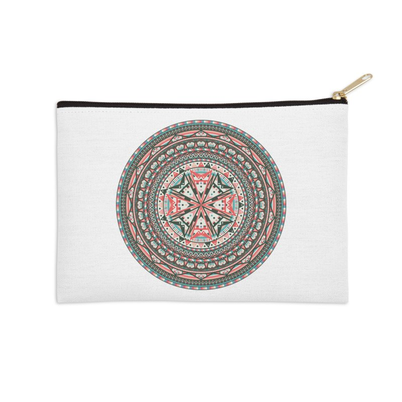 Mandala Accessories Zip Pouch by Tony Bamber's Shop