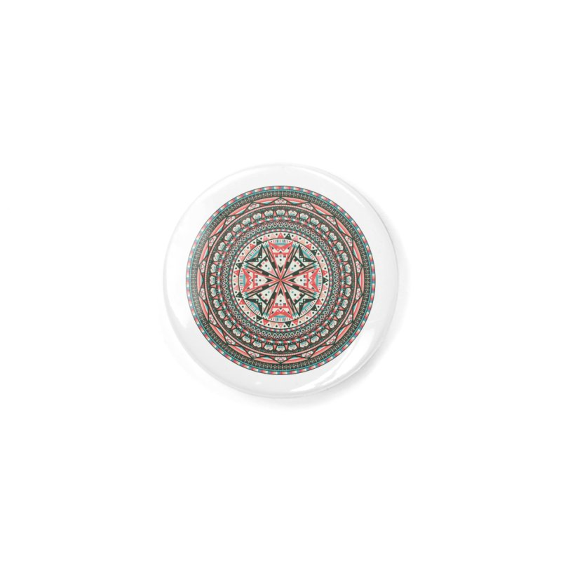 Mandala Accessories Button by Tony Bamber's Shop