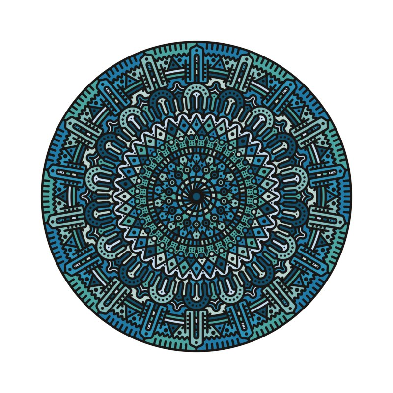 Mandala No. I None  by Tony Bamber's Artist Shop