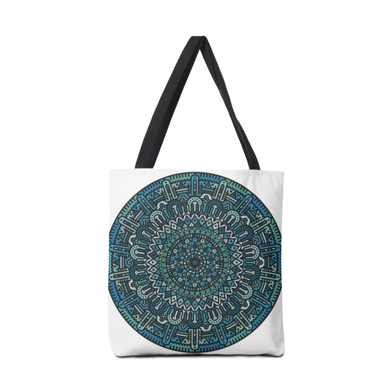 Mandala No. I Accessories Tote Bag Bag by Tony Bamber's Shop