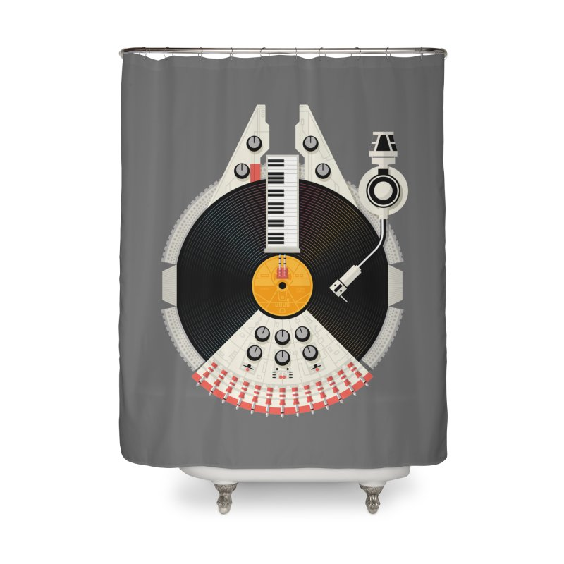 Smuggler Home Shower Curtain by Tony Bamber's Shop