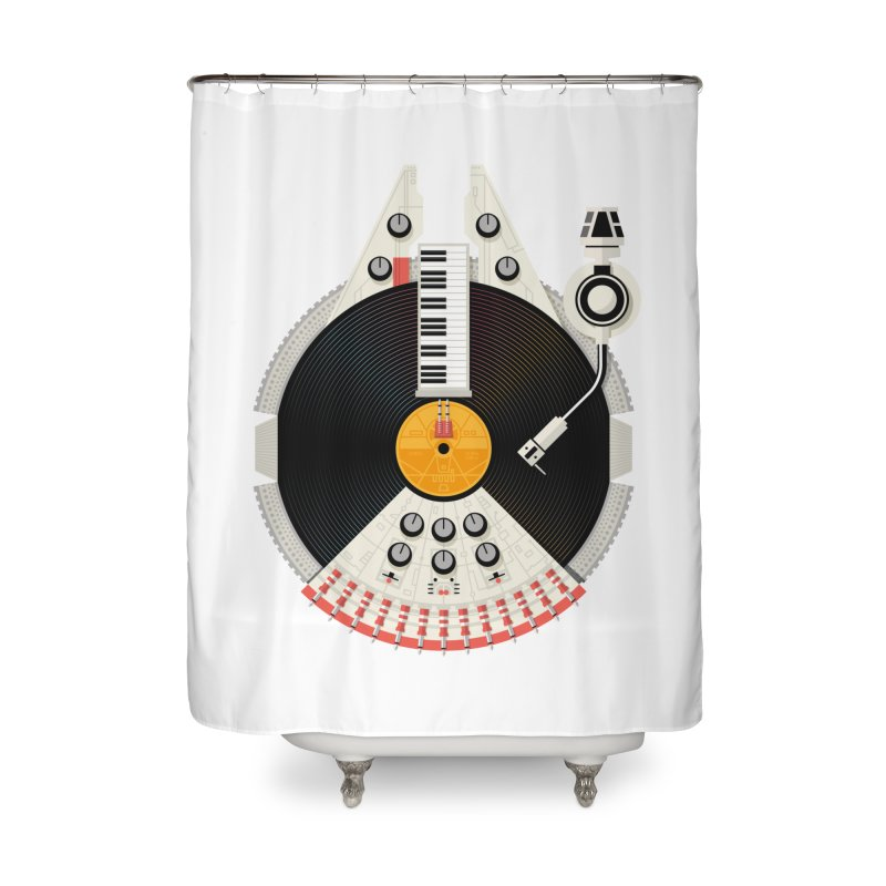 Smuggler Home Shower Curtain by Tony Bamber's Artist Shop