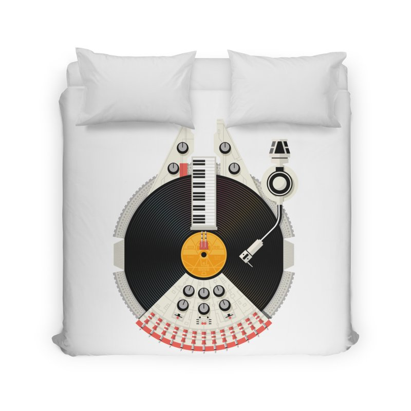 Smuggler Home Duvet by Tony Bamber's Artist Shop