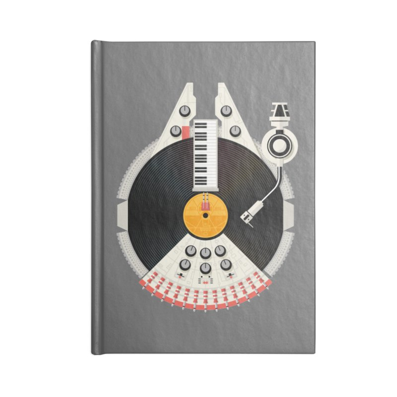 Smuggler Accessories Blank Journal Notebook by Tony Bamber's Shop