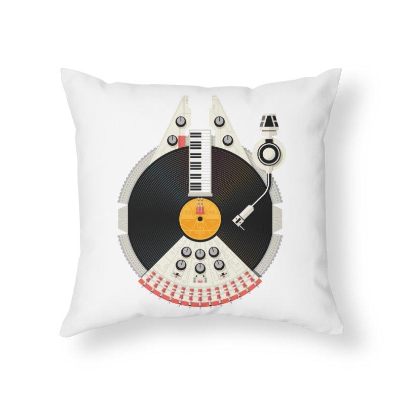 Smuggler Home Throw Pillow by Tony Bamber's Artist Shop